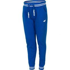 Spodnie chłopięce: Spodnie dresowe dla małych chłopców JSPMD113 – niebieski