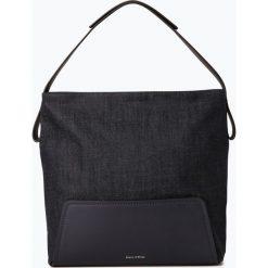 Marc O'Polo - Damska torebka na ramię, niebieski. Niebieskie torebki klasyczne damskie Marc O'Polo, z denimu, duże. Za 449,95 zł.