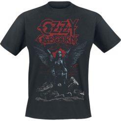 Ozzy Osbourne Angel Wings T-Shirt czarny. Czarne t-shirty męskie z nadrukiem Ozzy Osbourne, l, z okrągłym kołnierzem. Za 74,90 zł.
