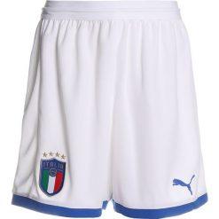 Puma FIGC ITALIEN KIDS SHORTS REPLICA Krótkie spodenki sportowe white. Białe spodenki chłopięce Puma, z materiału, sportowe. Za 149,00 zł.