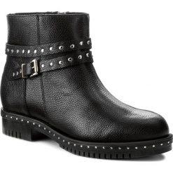 Botki KABAŁA - 263-546-516-1-00-01-00 Czarny. Czarne buty zimowe damskie marki Kabała, ze skóry, na obcasie. W wyprzedaży za 269,00 zł.