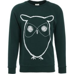 Bejsbolówki męskie: Knowledge Cotton Apparel BIG OWL Bluza green gables