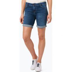 Odzież damska: Mustang – Damskie krótkie spodenki jeansowe – Bermuda, niebieski