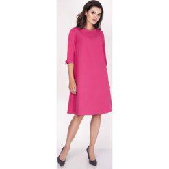 Różowa Sukienka Trapezowa Mini z Uroczymi Kokardkami. Czarne sukienki balowe marki Mohito, l, z dekoltem na plecach. W wyprzedaży za 110,58 zł.