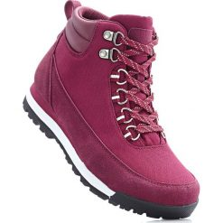 Kozaki trekkingowe bonprix bordowy. Czerwone buty skate męskie bonprix. Za 79,99 zł.