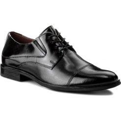 Półbuty LASOCKI FOR MEN - MI08-C343-381-05  Czarny. Czarne buty wizytowe męskie marki Kazar. Za 199,99 zł.
