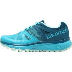 Salomon TRAILSTER Obuwie do biegania Szlak bluebird. Niebieskie buty do biegania damskie Salomon, z materiału. Za 439,00 zł.