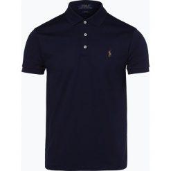 Polo Ralph Lauren - Męska koszulka polo, niebieski. Szare koszulki polo marki Polo Ralph Lauren, z bawełny. Za 399,95 zł.