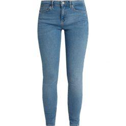 Topshop SIDNEY Jeans Skinny Fit blue. Niebieskie jeansy damskie marki Topshop, z bawełny. Za 229,00 zł.