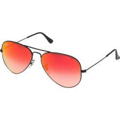 Okulary przeciwsłoneczne damskie aviatory: RayBan AVIATOR LARGE METAL Okulary przeciwsłoneczne black