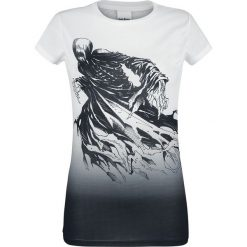 Harry Potter Dementor Koszulka damska czarny/biały. Białe bluzki z odkrytymi ramionami marki Harry Potter, xl, z nadrukiem, z okrągłym kołnierzem. Za 79,90 zł.