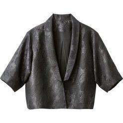 Marynarki i żakiety damskie: Marynarka krótka typu kimono, żakardowa