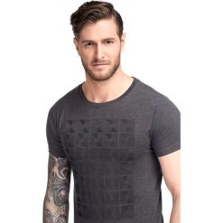 T-shirt BIAGIO TSPS000047. Czarne t-shirty męskie marki Giacomo Conti, m, z bawełny, z klasycznym kołnierzykiem. Za 99,00 zł.