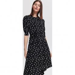 Sukienka w grochy - Wielobarwn. Czarne sukienki Reserved, w grochy. Za 199,99 zł.