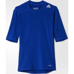 Adidas Koszulka męska Techfit Base Tee niebieska r. 3XL (AJ4971). Białe koszulki sportowe męskie marki Adidas, m. Za 83,41 zł.