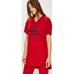 Tommy Hilfiger - Piżama. Szare piżamy damskie TOMMY HILFIGER, l, z nadrukiem, z bawełny. Za 279,90 zł.