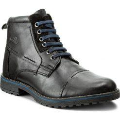 Kozaki MANITU - 670563 Black 1. Czarne buty zimowe męskie marki House. W wyprzedaży za 269,00 zł.