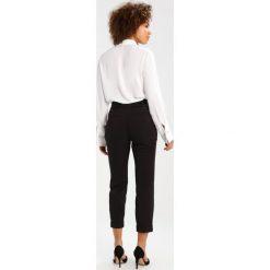 Spodnie z wysokim stanem: Dorothy Perkins TIE WAIST Spodnie materiałowe black