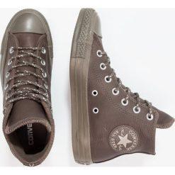 Converse CHUCK TAYLOR ALL STAR HI Tenisówki i Trampki wysokie dark chocolate. Szare tenisówki damskie marki Converse, z gumy. W wyprzedaży za 284,25 zł.