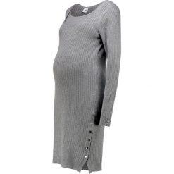 Sukienki: MAMALICIOUS MLMARIAH NELL DRESS  Sukienka dzianinowa medium grey melange