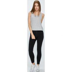Review - Jeansy Minnie. Szare jeansy damskie rurki marki Review, l, z tkaniny, z okrągłym kołnierzem. Za 129,90 zł.