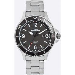 Timex - Zegarek TW4B10900. Czarne zegarki męskie marki Fossil, szklane. W wyprzedaży za 299,90 zł.