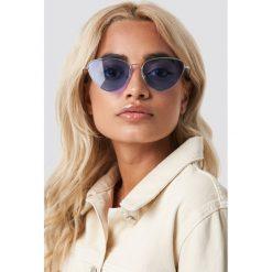 NA-KD Accessories Kolorowe okulary przeciwsłoneczne - Purple. Szare okulary przeciwsłoneczne damskie lenonki marki ORAO. Za 80,95 zł.