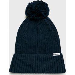 Converse - Czapka. Czarne czapki zimowe męskie Converse, na zimę, z bawełny. Za 99,90 zł.