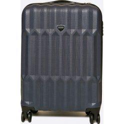 VIP COLLECTION - Walizka 35 L. Szare walizki marki VIP COLLECTION, z materiału, małe. W wyprzedaży za 279,90 zł.