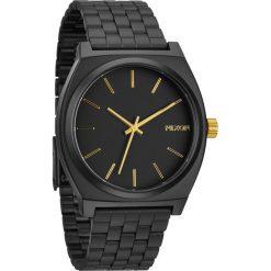 Biżuteria i zegarki damskie: Zegarek unisex Matte Black Gold\ Nixon Time Teller A0452041