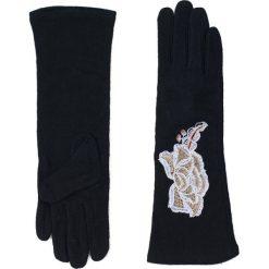 Rękawiczki damskie: Art of Polo Rękawiczki damskie długie So elegant czarno beżowe