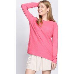 Różowy Sweter Light The Flame. Czerwone swetry klasyczne damskie Born2be, l, prążkowane. Za 64,99 zł.