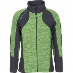 Kurtka polarowa w kolorze zielonym. Zielone kurtki męskie marki Peak Mountain, m, z materiału. W wyprzedaży za 121,95 zł.