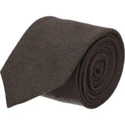Krawat platinum brąz classic 203. Brązowe krawaty męskie Recman, z tkaniny, eleganckie. Za 49,00 zł.