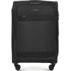 Walizka średnia 56-3S-582-10. Czarne walizki marki Wittchen, średnie. Za 379,00 zł.