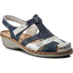 Rzymianki damskie: Sandały COMFORTABEL – 720116 Blau 5