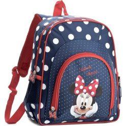 Plecak MINNIE MOUSE - PL12MM19 Granatowy. Niebieskie plecaki męskie Minnie Mouse, z motywem z bajki, sportowe. Za 59,99 zł.