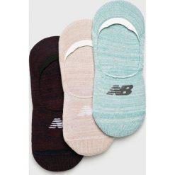 New Balance - Skarpetki (3-pack). Białe skarpetki damskie marki MEDICINE, z bawełny. W wyprzedaży za 39,90 zł.
