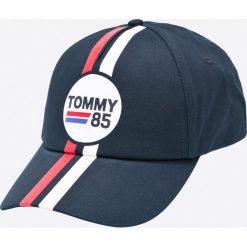 Tommy Hilfiger - Czapka. Szare czapki męskie TOMMY HILFIGER. W wyprzedaży za 99,90 zł.