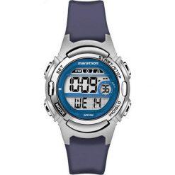 Zegarek Timex Damski Marathon Digital TW5M11200 granatowy. Niebieskie zegarki damskie Timex. Za 153,39 zł.