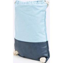 Vero Moda - Plecak. Pomarańczowe plecaki damskie marki Vero Moda, z bawełny. W wyprzedaży za 39,90 zł.
