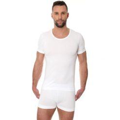 Koszulki sportowe męskie: Brubeck Koszulka męska z krótkim rękawem Comfort Cotton biała r. XL (SS00990A)