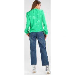 Bluzki asymetryczne: Topshop BED  Bluzka green