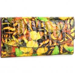 Duży Portfel Damski NOBO - NPUR-LG0190-CM02 Multi Żółty. Żółte portfele damskie marki Nobo, z lakierowanej skóry. W wyprzedaży za 169,00 zł.