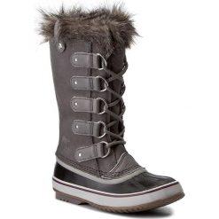 Śniegowce SOREL - Joan Of Arctic NL2429 Quarry/Black 052. Szare buty zimowe damskie Sorel, z gumy. Za 799,99 zł.