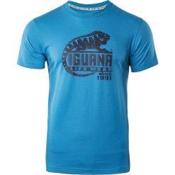 IGUANA Koszulka męska Dejen Dresden Blue r. M. Brązowe koszulki sportowe męskie marki IGUANA, s. Za 59,99 zł.