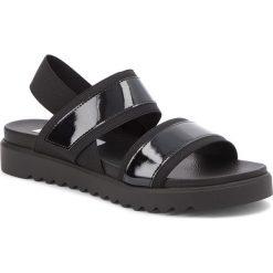 Sandały damskie: Sandały STEVE MADDEN – Sake Flat Sandal 91001123-07097-01001 Black