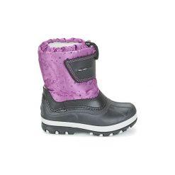 Śniegowce Dziecko Citrouille et Compagnie  FIZKO. Fioletowe buty zimowe chłopięce marki Citrouille et Compagnie. Za 159,20 zł.