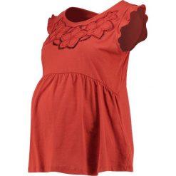T-shirty damskie: mint&berry mom Tshirt z nadrukiem red ochre