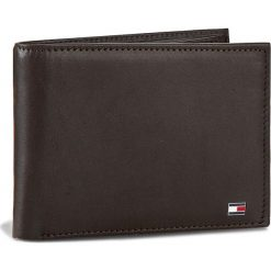 Duży Portfel Męski TOMMY HILFIGER - Eton Cc And Coin Pocket AM0AM00651/83361 041. Brązowe portfele męskie TOMMY HILFIGER, ze skóry. Za 299,00 zł.